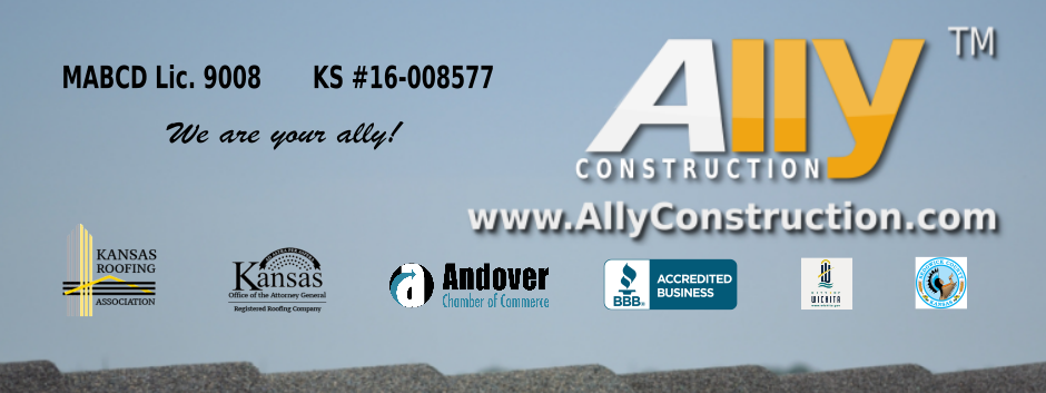 When Wichita is in need of a good roofing contractor, Ally Construction is your roofer! Wichita Roofing Services